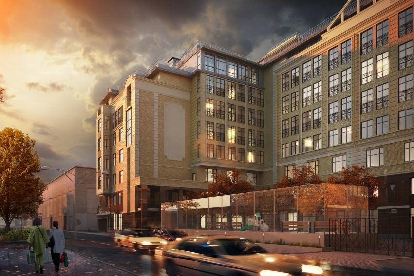 Жилой комплекс «Биография» строится на Пионерской улице и относится к сегменту «бизнес»