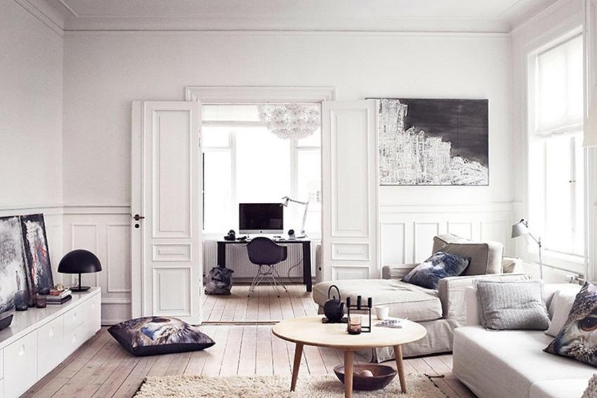 Уютная и удобная для проживания квартира с лаконичным дизайном