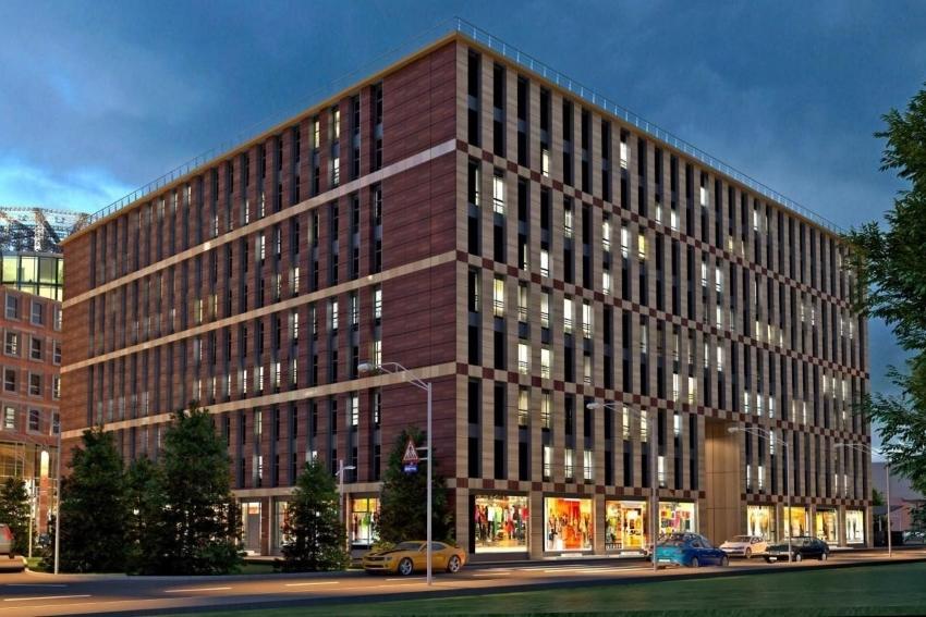 На фото – апарт-комплекс бизнес-класса Avenue Apart
