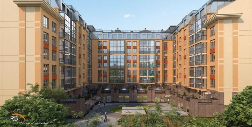 На фото – апарт-комплекс ArtStudio в центре Санкт-Петербурга